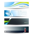 Header banners vector | Price: 1 Credit (USD $1)