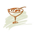 Ice-cream Hand drawn vector image