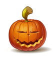 Pumpkins Smiling 1 vector image