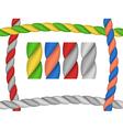 rope brush vector image