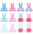 Set of rabbits vector | Price: 1 Credit (USD $1)