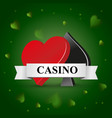 casino theme with preference vector image vector image