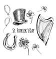 Day of St Patrick vector image