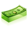 dollar pack vector image vector image