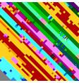 glitch color texture vector image vector image