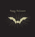 halloween greeting card holiday background vector image vector image