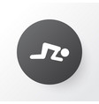 namaz icon symbol premium quality isolated sajdah vector image vector image