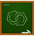 nuts icon Eps10 vector image vector image