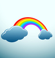 Rainbow Stock vector image vector image