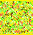 seamless geometric pattern background - abstract vector image vector image