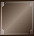 traditional asian background vector image vector image