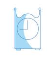 vintage clock time decoration image vector image