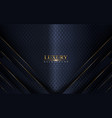 abstract luxury navy background design vector image vector image