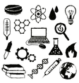 doodle science images vector image vector image