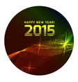Happy 2015 new year vector image vector image