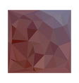 Indian Red Abstract Low Polygon Background vector image