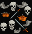 tattoo old school background vector image