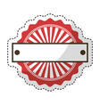circle seal stamp frame vector image vector image