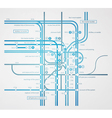 Infographics subway transportation plan vector | Price: 1 Credit (USD $1)