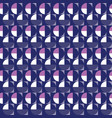 purple blue circle geometric repeat pattern vector image vector image