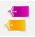 realistic design element archery vector image vector image
