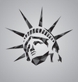 Statue of liberty symbol vector image