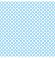 tile pattern with cute white polka dots on blue vector image vector image