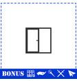 window icon flat vector image vector image