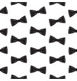 bow tie seamless pattern father s day background vector image