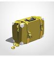Case full of money vector image