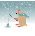 Christmas Christmas card vector image