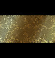 christmas holiday golden pattern background new vector image vector image