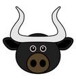 cute bull animal faces