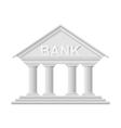 icon Bank vector image vector image