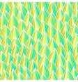 Seamless wave hand-drawn pattern Spring texture vector image vector image