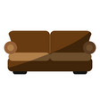 two seat couch or sofa icon image vector image vector image