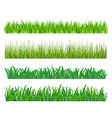 Green grass elements vector | Price: 1 Credit (USD $1)