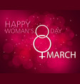 happy women s day vector image