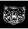 logo symbol sign stencil bear headunique technique
