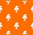 oak pattern seamless vector image vector image