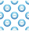 STOP sign pattern vector image vector image