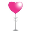 abstract heart tree vector image