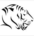 Tiger symbol vector image