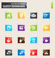 coffee icons set vector image vector image