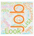 JH Learn how and where to look for jobs 1 text vector image vector image