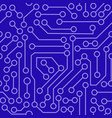 pattern of electronic circuit vector image