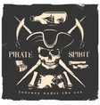 Pirates Print Or Poster vector image