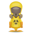 Radiation Protection Suit vector image vector image