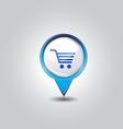 shopping pins vector image