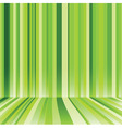 striped background in green colour vector image vector image